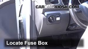 interior fuse box location volkswagen golf  interior fuse box location 2010 2014 volkswagen golf 2013 volkswagen golf tdi 2 0l 4 cyl turbo diesel hatchback 4 door