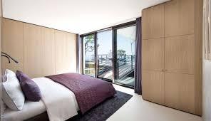 Massive Lacquer Wood Closet For Small Bedroom Mixed Glass Exterior - Exterior closet