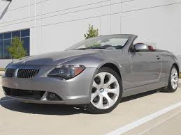 2006 BMW 650i Convertible Soft Top