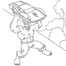 Hulk coloring page from hulk category. 25 Popular Hulk Coloring Pages For Toddler