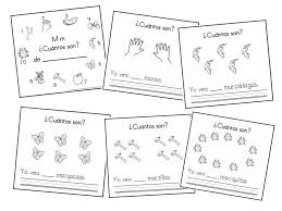 Mommy Maestra: The Letter M Counting Book in Spanish {PRINTABLE}
