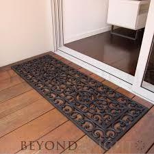 oval office rugs. Long Brooklyn Rubber Door Mat 45 X 120cm Oval Office Rugs B