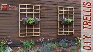 Small Picture How to Make a Garden Trellis DIY Trellis YouTube