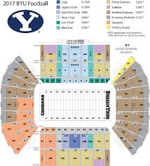 Cougar Stadium Seating Chart Byu Cougars College Football Game On Saturday October 28 Or Saturday November 18