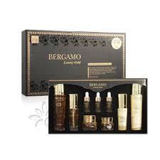 <b>Bergamo Luxury Gold</b> Set: отзывы, состав, способ применения