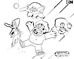 Steven Universe Coloring Pages Free Printable Universe Coloring