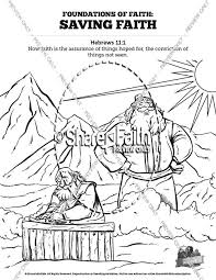 Create your own coloring book for kids of all ages. Hebrews 11 Saving Faith Sunday School Coloring Pages Sunday School Coloring Pages