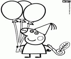 peppa pig balloons_579b1fef3687d p peppa pig coloring pages printable games on coloring book pig