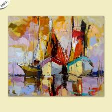 hand painted beautiful abstract modern handmade oil painting