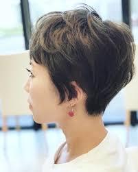 女子の刈り上げショートマッシュの髪型25選伸びてきたらどうする