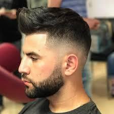 quiff haircut high fade
