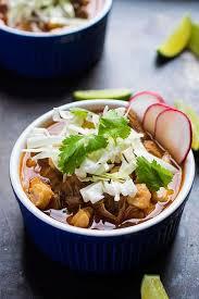 slow cooker posole rojo stew