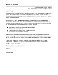 Massage Therapy Thank You Letter Sample My Blog