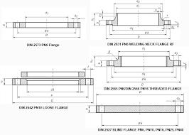 Flange Od Id Pcd Chart Din Flange Manufacturers Din Pn40 Pn16 Flange Din Standard