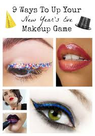 get a look that s all glitz and glimmer with these new year s eve makeup ideas that