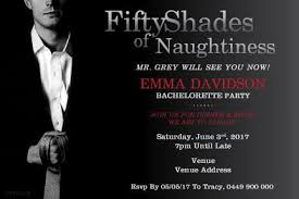bachelorette party invite bachelorette party invitations party invitation template 50 shades