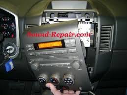 2004 nissan titan double din install step by step nissan titan forum here is what it looks like all taken out and unplugged made mistake of removing clip that holds passenger airbag and the light on the dashboard would not
