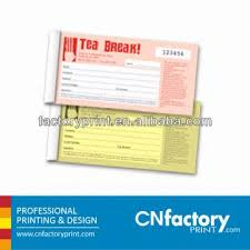receipt book printing carbonless bill receipt book printing with customized design