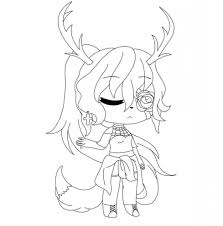 Hi guys gacha life production channel is a game where you can create characters and animate them into a video. Gacha Life Coloring Sheets Page 1 Line 17qq Com