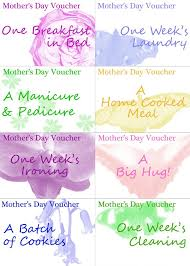 qualified printable vouchers template for mother s day v m d gift certificate voucher image