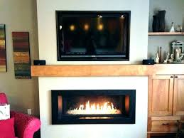 gas wall fireplace in wall fireplace gas