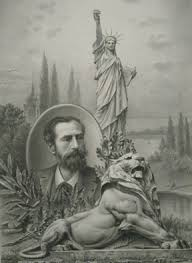 「the statue was designed by French sculptor Frederic-Auguste Bartholdi」の画像検索結果