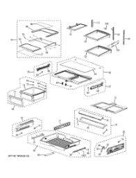 parts for ge pfsspkwass refrigerator com 07 fresh food shelves parts for ge refrigerator pfss6pkwass from com