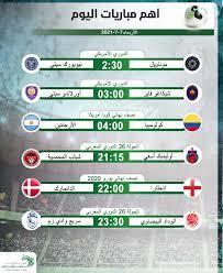 موعد أهم مباريات اليوم الأربعاء 7-7-2021.. والقنوات الناقلة - التيار الاخضر