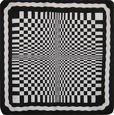Black And White Quilt Patterns Impressive Black And White Optical Quilt Pattern JT48e Instant Download