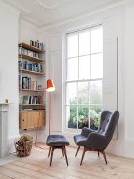 General: Diamond Shaped Built In Nook - Chair For Reading Corner