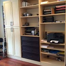 office in closet. Office Closet In