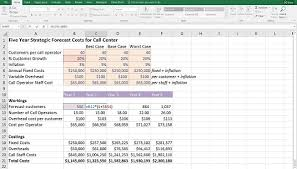 excel modeling how to build drop down scenarios in your financial model