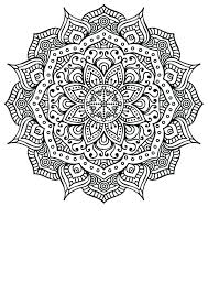 Creativity With Mandala Coloring Pages Of Mandalas For Adults