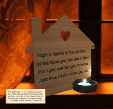 Light A Candle In Memory Poem Pin On Frames Wood Signs