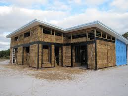 Image of: Straw Bale House Plans Rustic