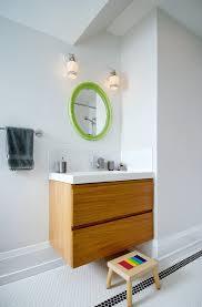 26 bathroom vanity bathroom contemporary with antique mirror backsplash black