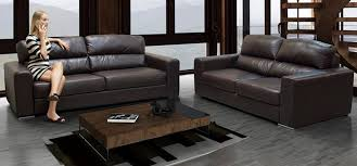 naples 3 2 seater brown