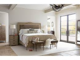 Stanley Bedroom Furniture Villa Couture Alessandra Upholstered Bedroom Set In Glaze