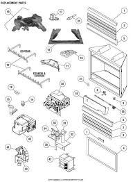 incredible a plus inc lennox edv4035 replacement parts accessories pertaining to fireplace replacement parts