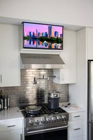 Tv In Kitchen 17 Best Ideas About Tv In Kitchen On Pinterest Small Marble
