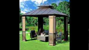 lake charles gazebo deluxe how much to build a patio cover 10 x 12 heavy duty galvanized