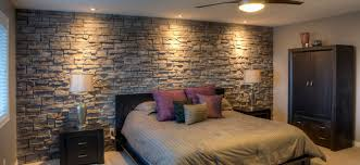 Perfect October Feature Project U2013 Bedroom Feature Wall. Posted By Fusion Stone