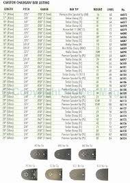 Chainsaw File Size Chart Fresh 39 Beautiful Graph Oregon
