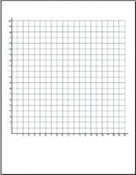 Graph Paper Quadrant 1 Coordinate Plane 20 X 20 Audacious Coordinate