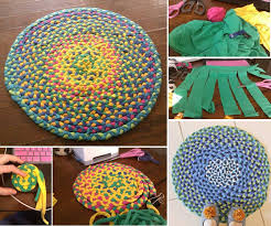 t shirt rugs diy