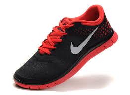 nike running shoes for men black and red. nike womens running shoes free 4.0 v2 black red for men and