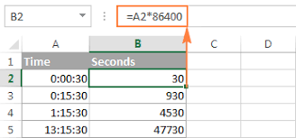 Decimal To Hours Chart Excel Convert Time To Decimal Number Hours Minutes Or Seconds