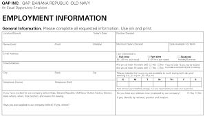 burlington coat factory job application form online template design old navy job application printable job employment forms for burlington coat factory job application form