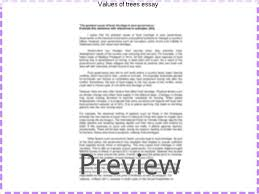 values of trees essay coursework service values of trees essay there is a compition in our collge on 5th febwhere we