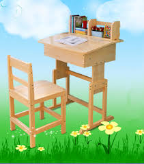 folding study table and chair foldable set for